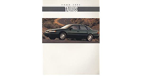 1994 Ford Taurus and SHO 22-page Original Car Dealer Sales Brochure Catalog