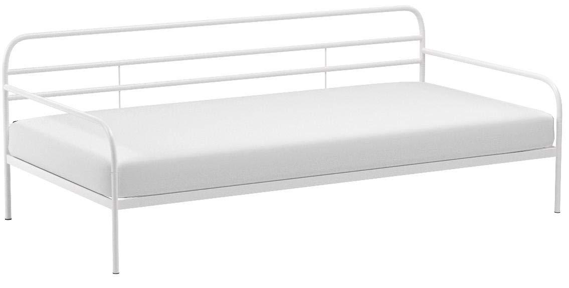 Zinus Parag Trestle Twin Daybed Frame, Steel Slat Support