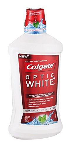 Colgate Optic White Mouthwash 32 Ounce