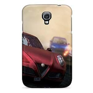 Flexible Tpu Back Case Cover For Galaxy S4 - Alfa Romeo 4c