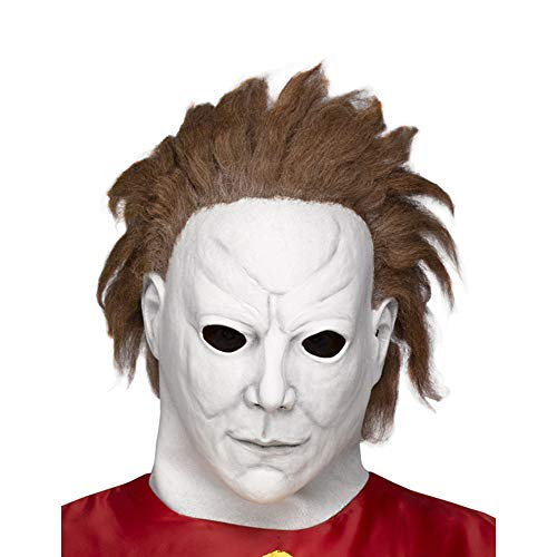 Halloween 2 Myers (Fun World Unisex-Adult's Michael Myers-Beginning Mask, Multi,)