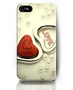 UKASE Designed Phone Cases for iPhone 4 4S - Heart Theme - Love and Heart