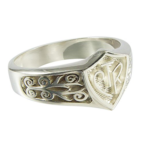 "Choose The Right CTR Ring ""Legacy"" Sterling Silver Size (4 13)"