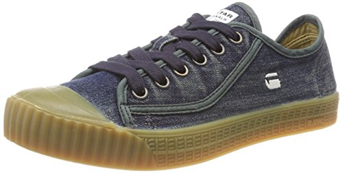 Raw Eu Roel 881 Uomo Blu 45 Rovulc dk Navy Low Sneaker star Wash G 4q5xBB
