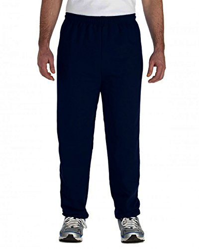 Athletic Heavyweight Sweatpants (Mens Heavyweight Sweatpants (XXL, Navy))