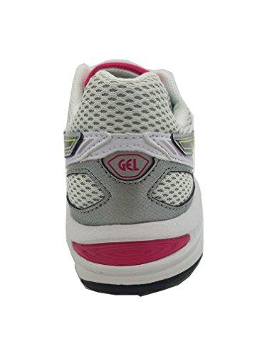 Asics Gel Ikaia 5 GS Zapatillas YCS White/Purple/Pink Talla:38 EU - White/Purple/Pink
