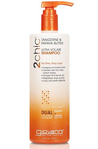 2chic Ultra Volume Tangerine and Papaya Butter Shampoo, 24 o