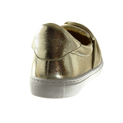 Moda Deportivos On Mujer Tal Zapatillas Pajarita Angkorly Slip Brillantes a41q5znxwf
