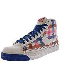 Nike Women's Blazer High White/Blue Sapphire Varsity Red High-Top Basketball Shoe - 11M