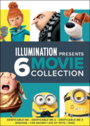 Illumination Presents: 6-Movie Collection 6 Dvd Edizione: Stati Uniti Italia: Amazon.es: Cine y Series TV