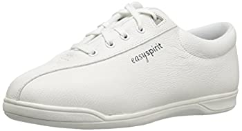 Easy Spirit Ap1 Sport Walking Shoe, White Leather, 5 M 0