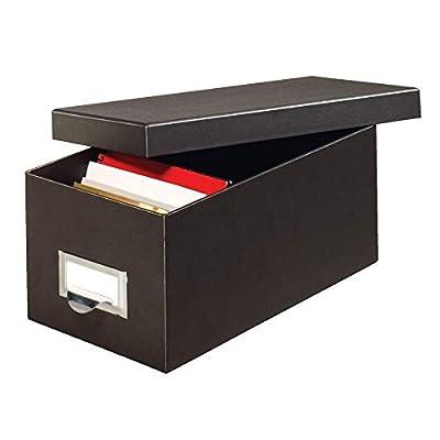 Globe-Weis Fiberboard Index Card Storage Box