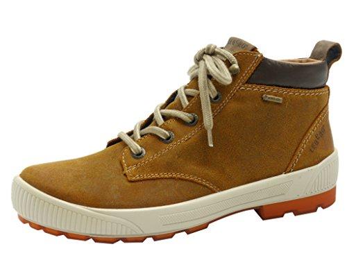 Legero Taro Damen Derby Hohe Sneakers Hasel