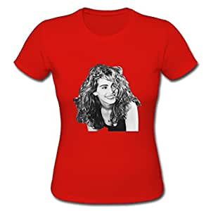 CQ43 Women Julia Roberts Pattern Tshirt Personalized Tees