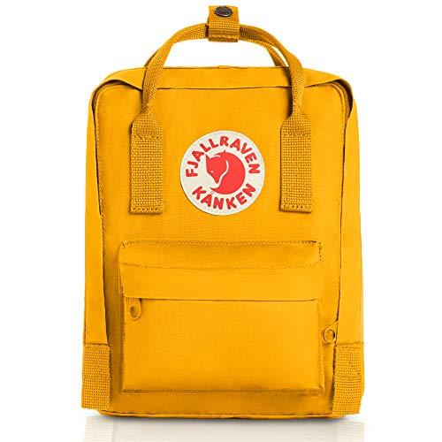 Fjallraven - Kanken Mini Classic Backpack for Everyday, Warm Yellow