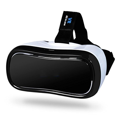 Livehomes 3D VR All in One Virtual Reality Headset WiFi 2.4G Bluetooth HDMI 1080P 360 Viewing Immersive Supports TF Card for PC Movie and PS4 Xbox Games Youtube Google Play by Livehomes