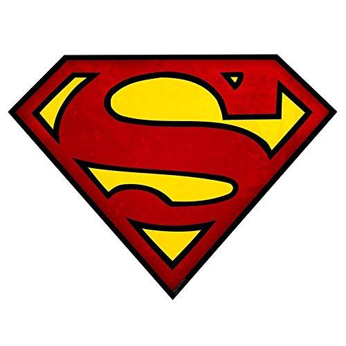SUPERMAN Mousepad Superman logo in shape