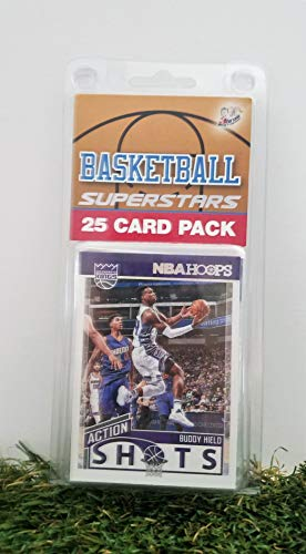 Sacramento Kings- (25) Card Pack NBA Basketball Different King Superstars Starter Kit! Comes in Souvenir Case! Great Mix of Modern & Vintage Players for the Ultimate Kings Fan! By 3bros ()