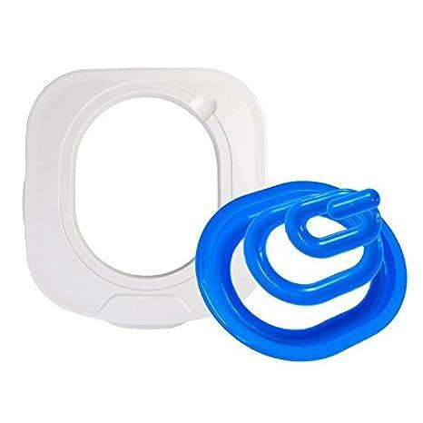 Horrenz – Kit de Entrenamiento de Inodoro de plástico para Gatos, Cachorro, Perro,