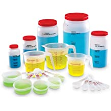 Learning Resources Classroom Liquid Measuring Set, 19 Pieces
