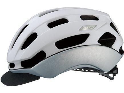 KOOFU(コーフー) BC-GLOSBE2 S/Mサイズ マットホワイトヘアライン ヘルメット BCグロッスベ2   B07F8PV11D