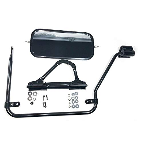 DOOR MIRROR AND STAY FOR ISUZU PASSENGER SIDE RH FOR FORNPR 1986-2007 ()