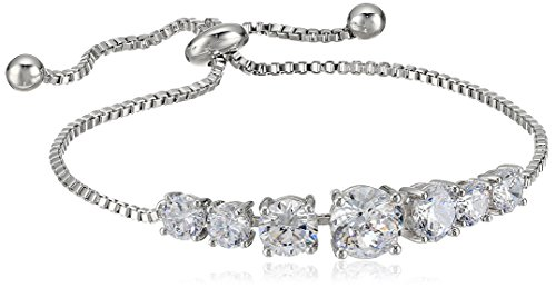 silver-plated-100-facets-collection-cubic-zirconia-adjustable-bracelet