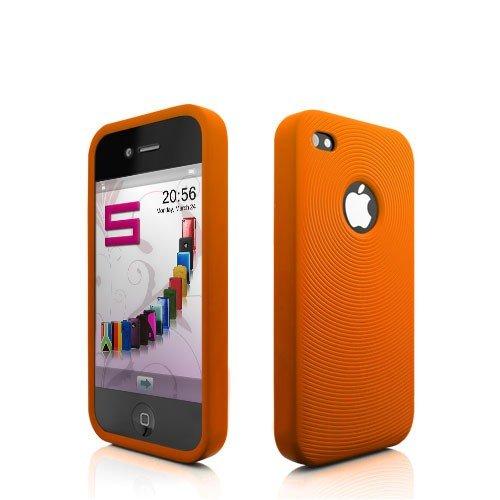 Katinkas 2018037316 Housse en silicone TPU pour Apple iPhone 4 Orange