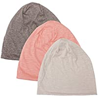 Bamboo Jersey Unisex Beanie Hat And Infinity Scarf With Zipper Pocket - Reach USA Proposition 65 Standard, 30-DAY MONEY REFUND GUARANTEED