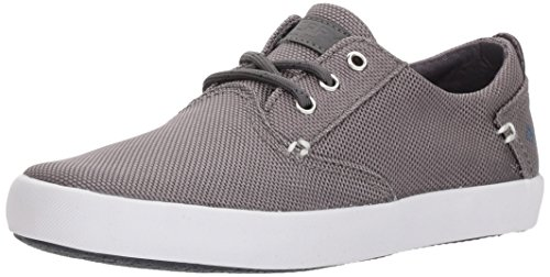 Sperry Kids' Bodie Boat Shoe, Grey, 5 Medium US Big Kid (Sperry Top Sider Boys Billfish Boat Shoes)