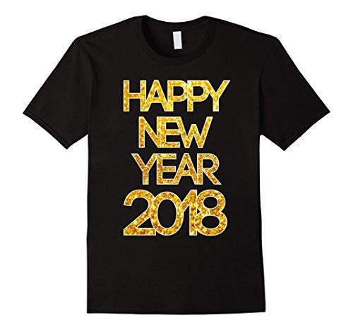 HAPPY NEW YEARS EVE 2018 GLITTER GLAMOUR SHIRT