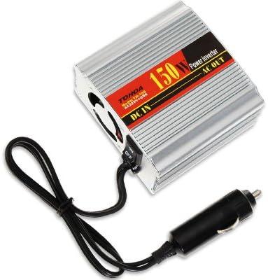 CONVERTISSEUR TRANSFORMATEUR VOITURE 150W 12V EN 220V USB