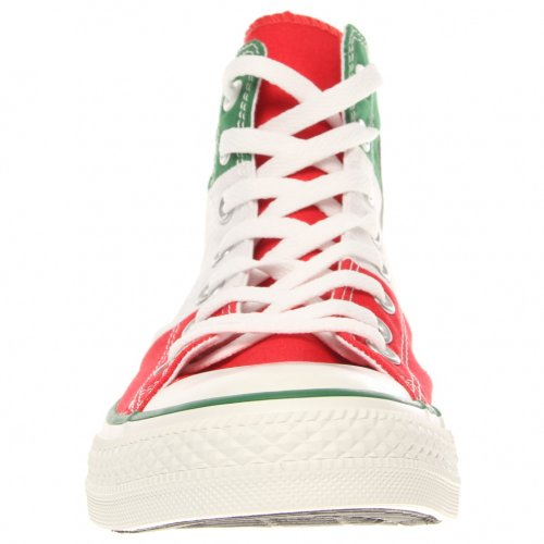 688b2bfab473bc CONVERSE MENS ALL STAR HI TRI PANEL MEXICO GREEN WHITE RED SIZE 11 - Buy  Online in Oman.