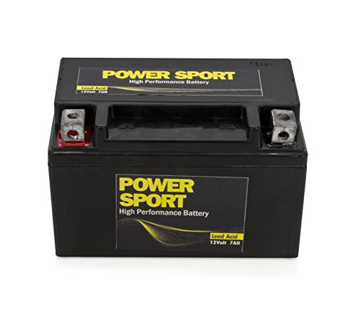 YTX7A-BS, GTX7A 32X7A 44023 CTX7A , GTX7ABS Star 50CC Moped Scooter 12V 7AH Replacement Power Sports Battery ExpertPower