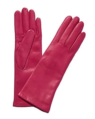 Portolano Womens Cashmere-Lined Leather Glove, 7.5 - Portolano Cashmere