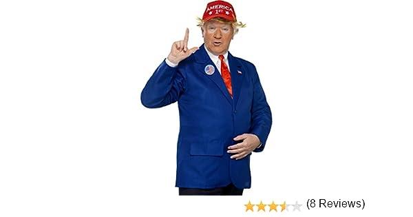 Disfraz o Kit de Presidente Trump para hombre: Amazon.es: Juguetes ...