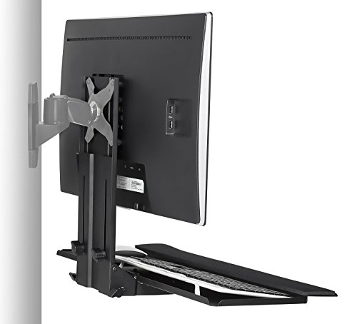 mount it monitor and keyboard wall mount height adjustable import it all. Black Bedroom Furniture Sets. Home Design Ideas