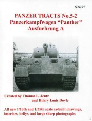 """Panzerkampfwagen """"Panther"""" Ausf.A (Panzer Tracts, # 5-2)"""