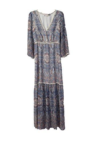 chelsea and violet blue dress - 1