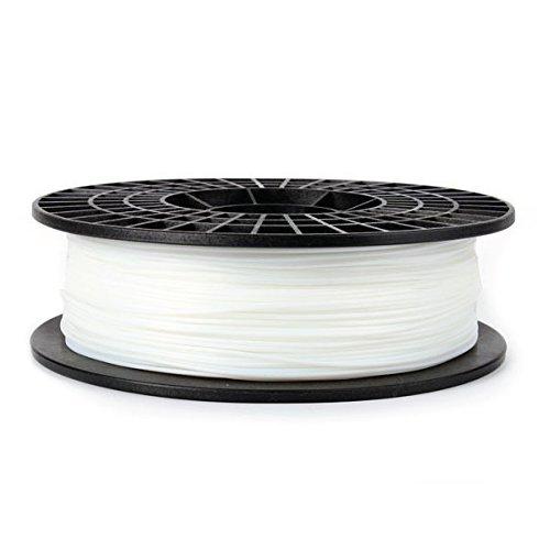 CoLiDo d'impression 3D 1.75mm PLA Filament Spool, 0.5kg flexible blanc LCD015WQ7J