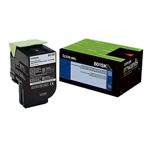 Lexmark 801SK  Black Toner Cartridge for CX310, CX410, CX510