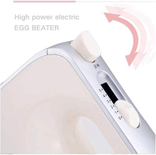 XXDTG Fouet 200W Haute Puissance Conception, 5 Vitesses, Transmission Efficace, ABS + Design en Acier Inoxydable Blender