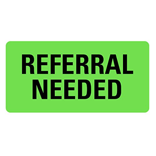 REFERRAL NEEDED Medical Records Labels LV-MRL19 ()