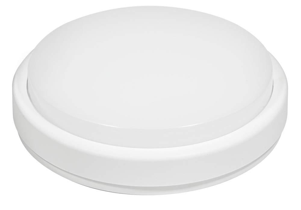 Fox light - ojo de buey LED redondo 18 W con sensor de movimiento integrado 1300 lm 4000 K 240 V - 601394: Amazon.es: Bricolaje y herramientas