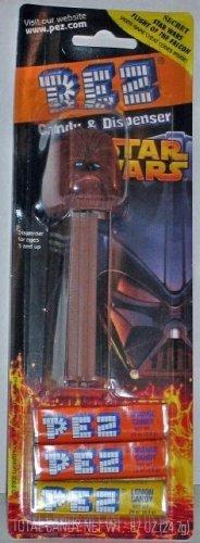 Pez Candy Dispenser: Star Wars Chewbacca Blister Card by Pez Candy (Chewbacca Pez Dispenser compare prices)