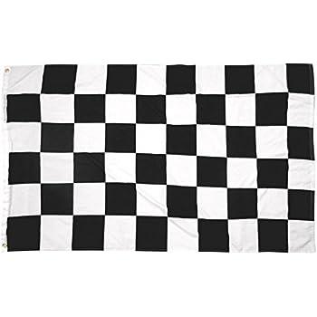 amazon com 3x5 checkered flag new checker finish line racing