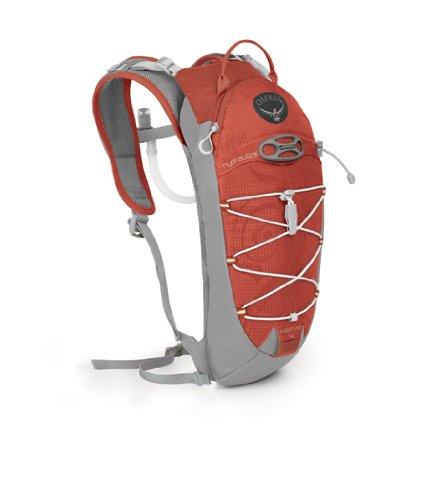 Osprey Verve 4-Litre Hydration Pack (Lava, One Size), Outdoor Stuffs