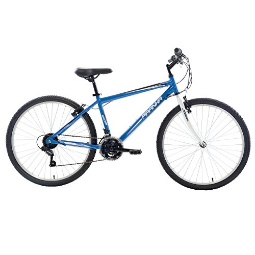 Piranha 21 Speed Rigid MTB, 26 inch wheels, 18 inch frame, Men's Bike, Blue