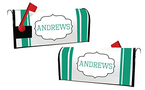 box Cover Personalized with Last Name (Personalized Mailbox Covers)
