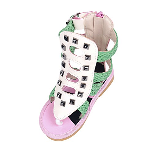 Chameleon Sandals (Discolor White To Pink)